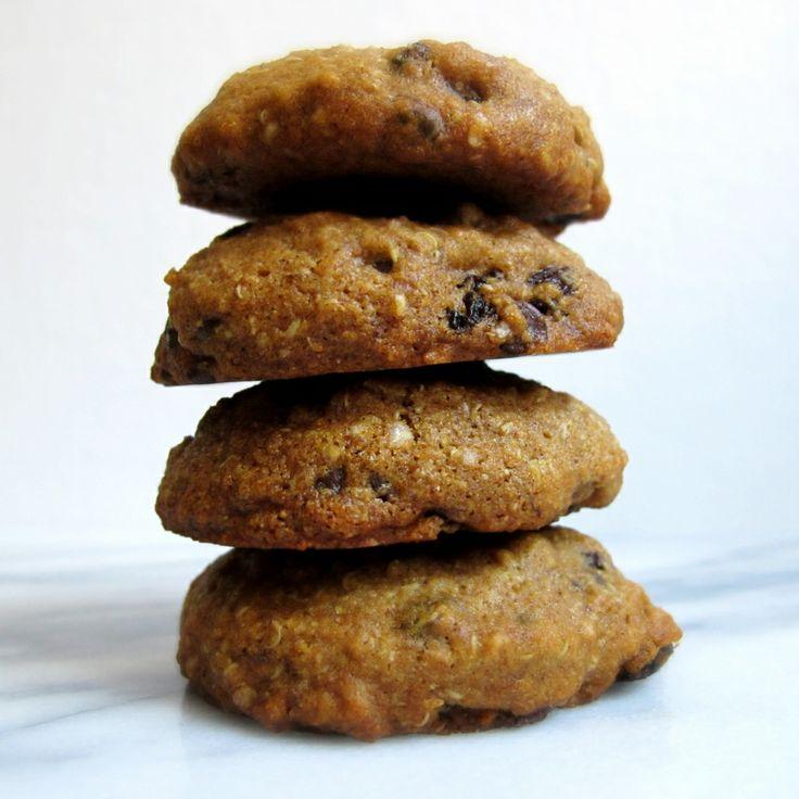 Quinoa Flake Cowgirl Cookies [gluten free, allergy ...