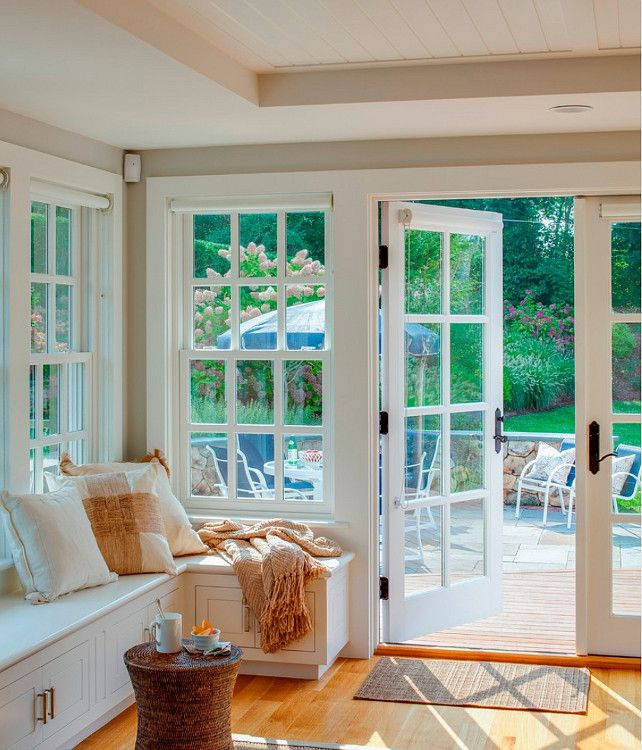 1000 images about banquettes window seats on pinterest - Cape cod house interior ...