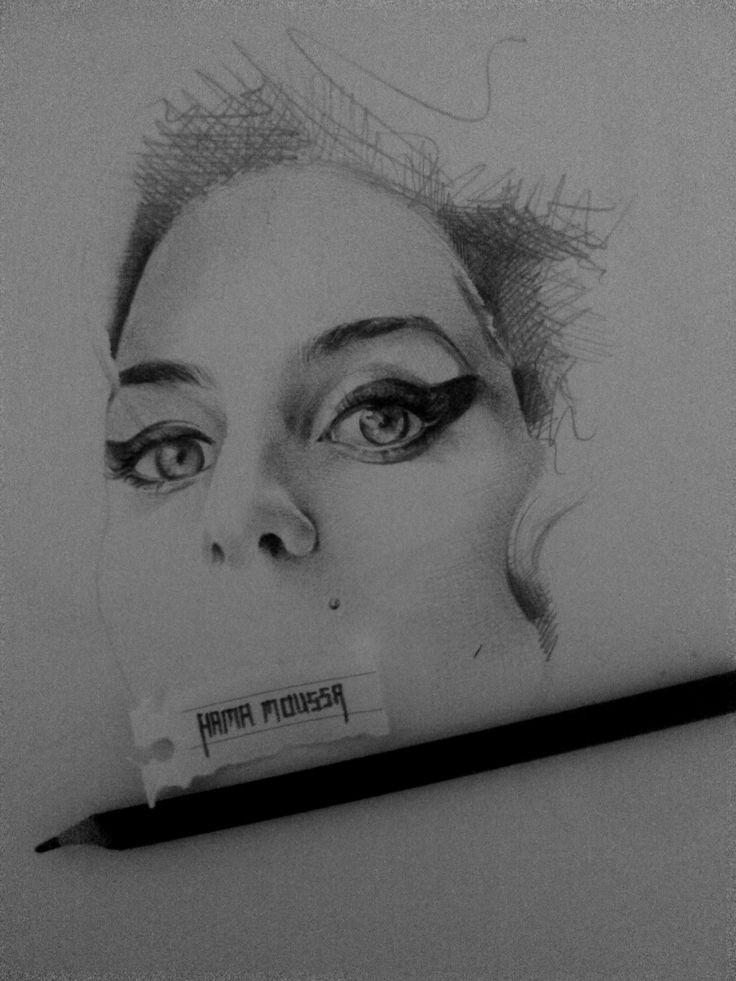 Amy Winehouse by Spizou __Hamza Moussa