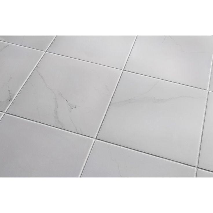 7 Pack Calacatta White Glazed Porcelain Floor Tile Flooring Ideas