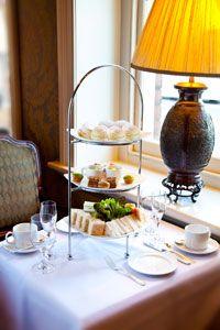 High Tea, Stamford Hotel, Circular Quay, Sydney