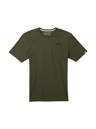 Burton Mens Shasta Short Sleeve TShirt Dusty Olive Small >>> Click for  Special Deals