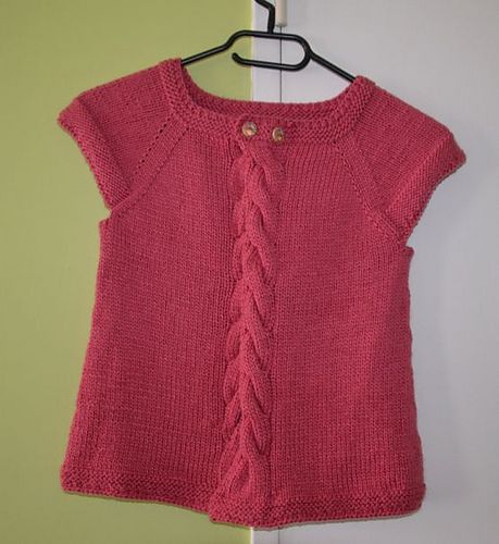 Ravelry: Cardigan Capucine pattern by Tricot KAL