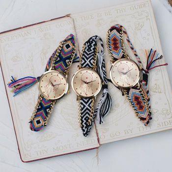 'Dream Catcher' Fabric Watch