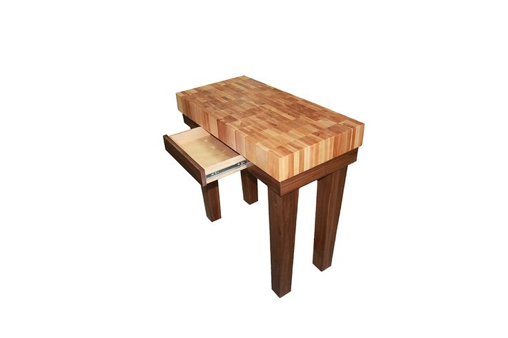 Chopping Block Table With A Slide Out! Makes A Great Gift For Any Chef.