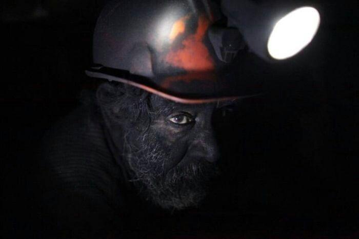 Hardworking miner