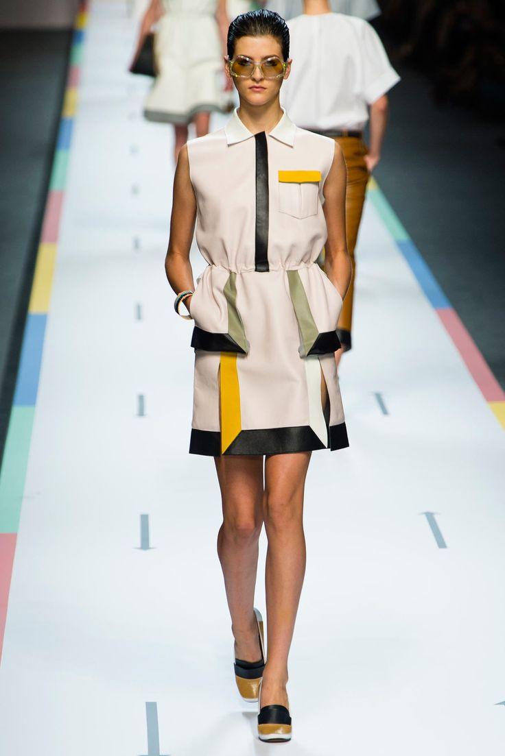 Fendi Spring 2013 Ready-to-Wear Fashion Show - Athena Wilson