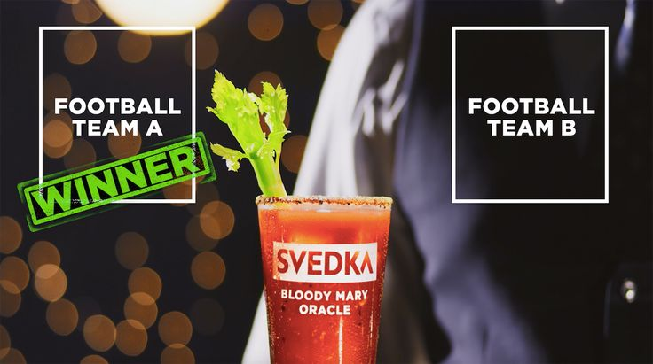 "Predict the ""Big Game"" Super Bowl 51 outcome with the SVEDKA Bloody Mary Oracle"