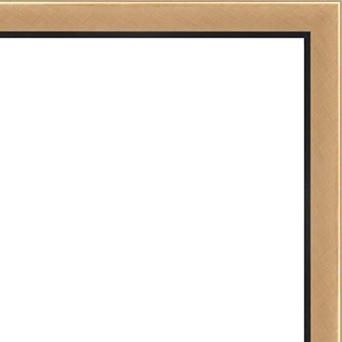 12x14-12 x 14 Gold With Black Lip Solid Wood Frame with UV Framer/'s Acrylic /&