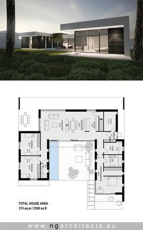 Exceptional Modern Villa AJ Designed By NG Architects Www.ngarchitects.eu