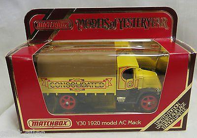 Matchbox Models Of Yesteryear Ltd Ed Truck Y30 1920 Model