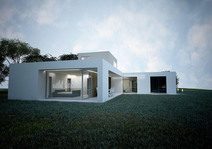 moderný projekt domu BOJ2G - NED ATELIER