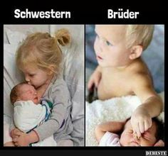 Schwestern / Brüder   Lustige Bilder, Sprüche, Witze, echt lustig