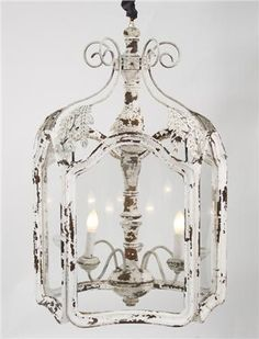 French Country Chandelier Shabby Chic