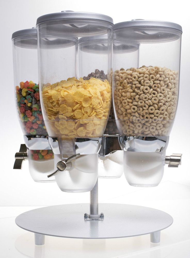 85 best cereal dispenser ideas images on pinterest cereal food storage four containers round metal stand idm easy clean high quality new ebay coffee dispensercereal ccuart Images