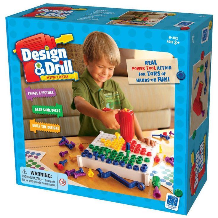 Design and drill - elektromos csavarhúzós kreatív játék Learning Resources