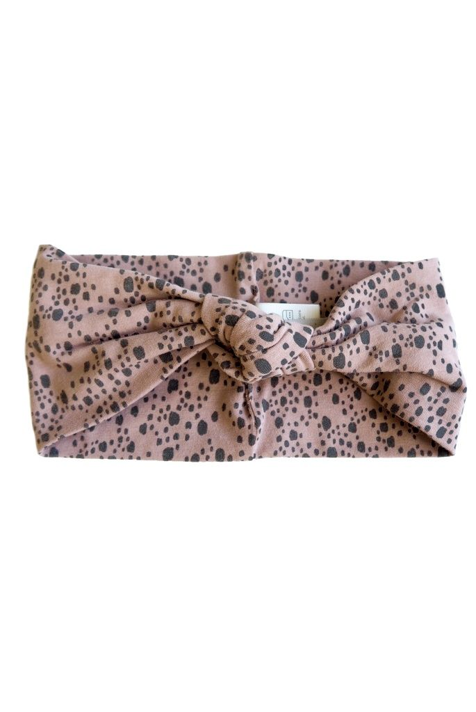 Minna Hairband - Old Pink - By Heritage
