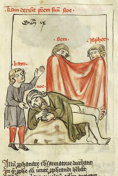 Speculum humanae salvationis, MS M.140 fol. 22r - Images from Medieval and Renaissance Manuscripts - The Morgan Library & Museum