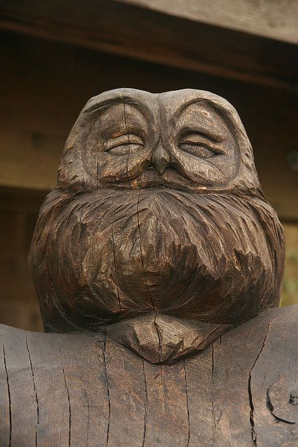 wooden owl (SphericalBoy, Flickr)
