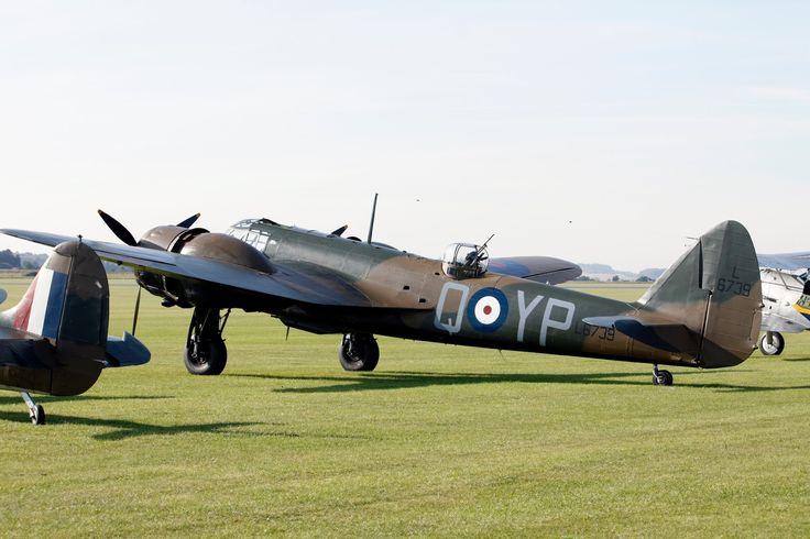 Bristol Blenheim Mk I Battle of Britain airshow, Duxford, 24/9/17.