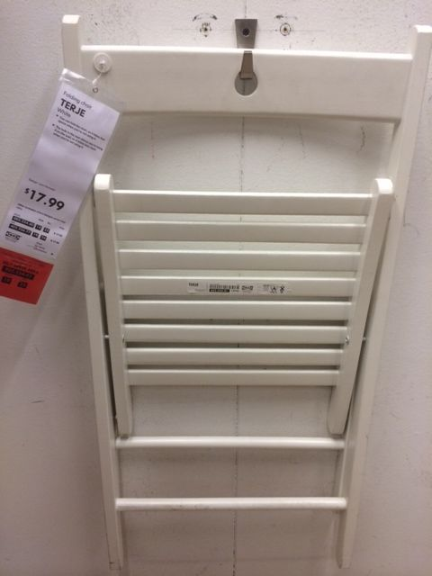 Ikea Farmhouse Sink Undermount ~ White folding chairs at Ikea!  Tables & Chairs  Pinterest  Folding
