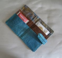 Sister Of The Divide: Tea Wallets and Tutorial