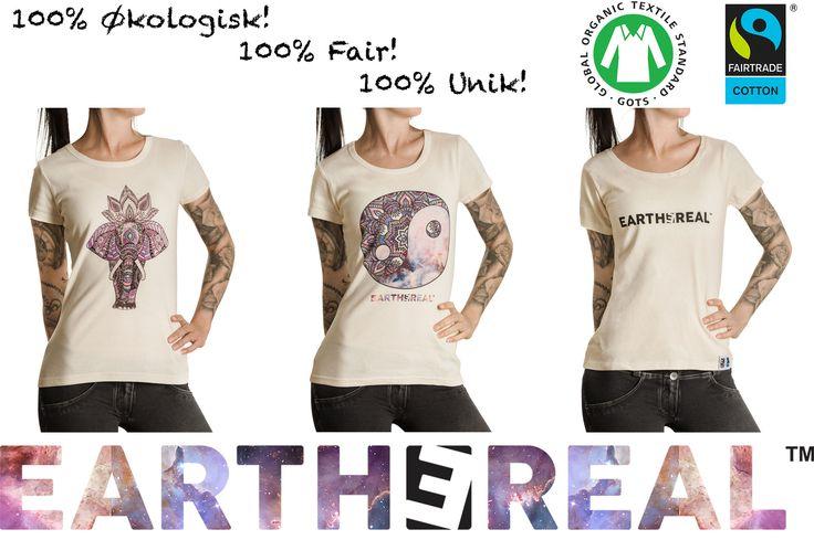 EARTHEREAL økologisk og fairtrade klær