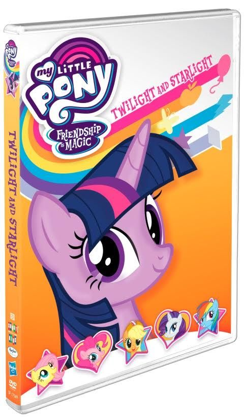 MY LITTLE PONY – Friendship Is Magic:  Twilight and Starlight are coming to DVD May 30th! Enter to win your copy! #giveaway #MLP