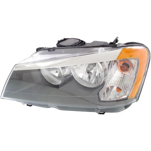 20112014 BMW X3 Head Light LH, Assembly, Halogen Bmw x3