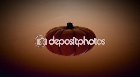 Halloween Pumpkin — Stock Video © GoodArtPix #84744470