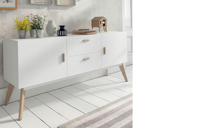 66 best buffet contemporain images on pinterest. Black Bedroom Furniture Sets. Home Design Ideas