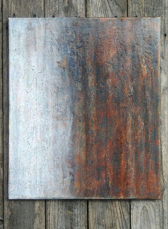 Minimalist texture painting modern texture canvas wall for Minimalist wall painting