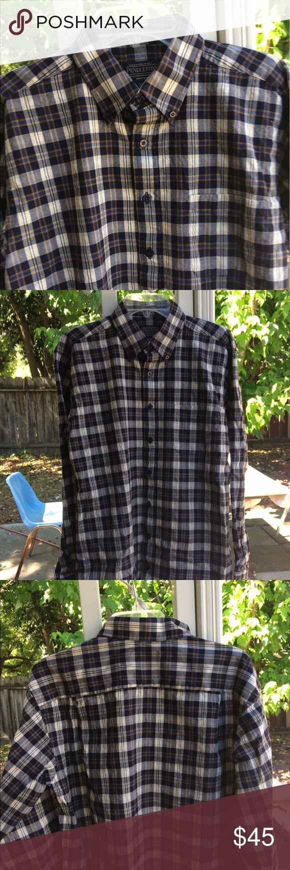 Pendleton Shirt New school Sir Pendleton shirt. Amazing colors. Pendleton Shirts Casual Button Down Shirts
