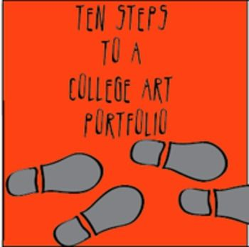 $ Help for college applicants.  A reassuring and easy way for juniors and seniors to create an art portfolio.