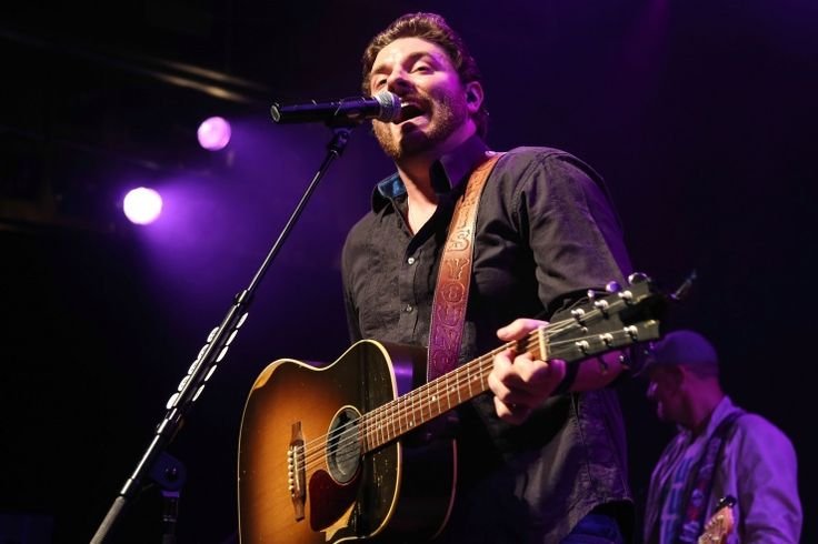 """GRAMMY-nominated country artist Chris Young is caught in the middle of a big """"Aw Naw""""�during a performance on Sept. 30 in West Hollywood, Calif.��"""