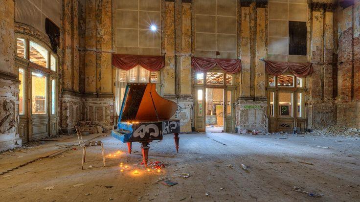 Ballhaus Grünau, an abandoned ballroom built in 1896 in Berlin.