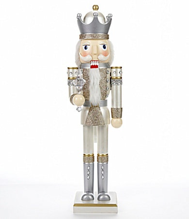 Nutcrackers Silver And I Love On Pinterest