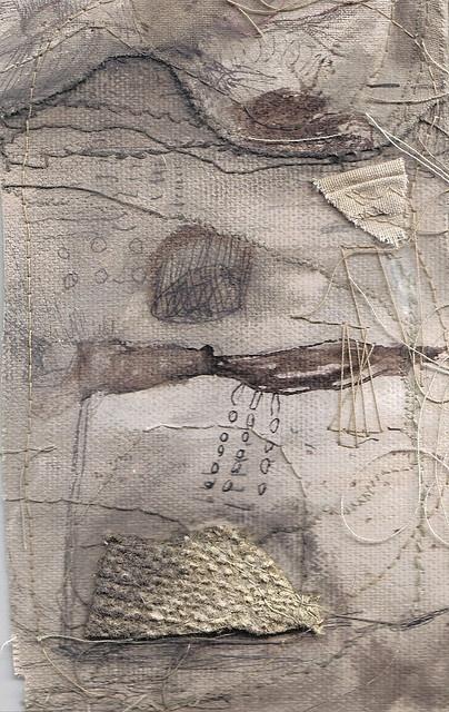 textile piece by Jade Pegler textile piece ..
