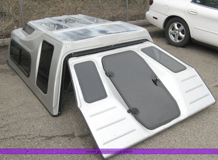truck toppers | ... by Guidon pickup bed topper , Fits full size Ford pickup truck