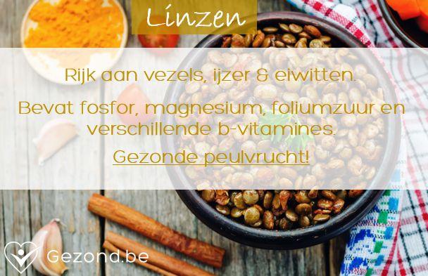 Ken jij deze gezonde peulvrucht? #linzen