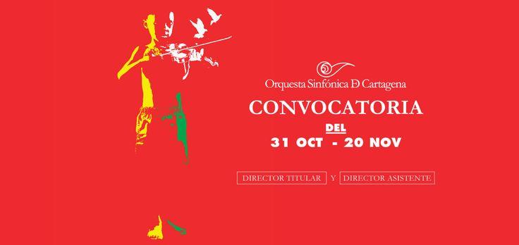 Director Titular y Director Asistente de la Orquesta Sinfónica de Cartagena