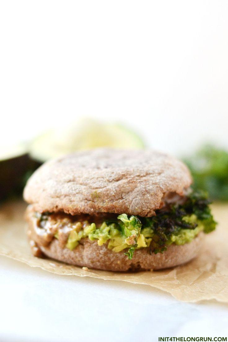 Veganes Frühstücks-Sandwich   – Easyrecipe