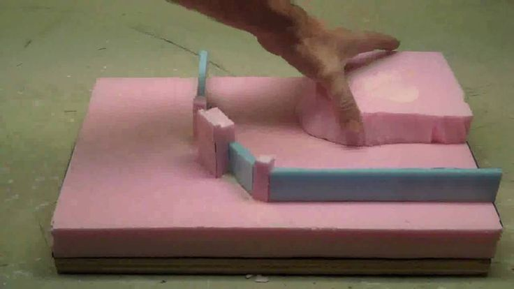 How to use foam to make wargaming terrain or diorama terrain