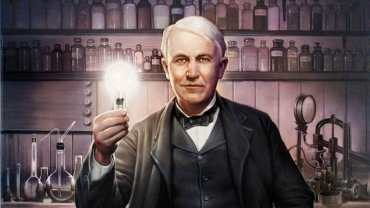 Tiga Siku - Apabila Anda melihat sekeliling Anda, banyak benda yang diciptakan atau dibuat menjadi lebih baik oleh Thomas Alfa Edison. Dalam 84 tahun hidupnya, Edison mempatenkan 1.093 karya penemuannya, termasuk bola lampu pijar, phonograph, sistem elektrik, mo