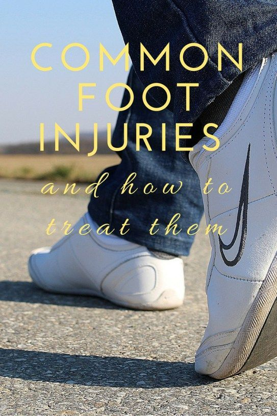 Common Foot Injuries & How to Treat Them