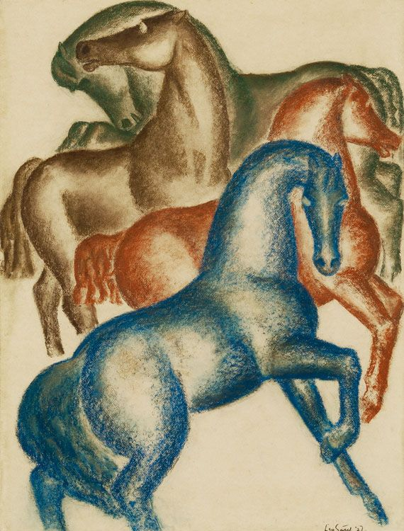 by Leo Gestel (Dutch 1881-1941)