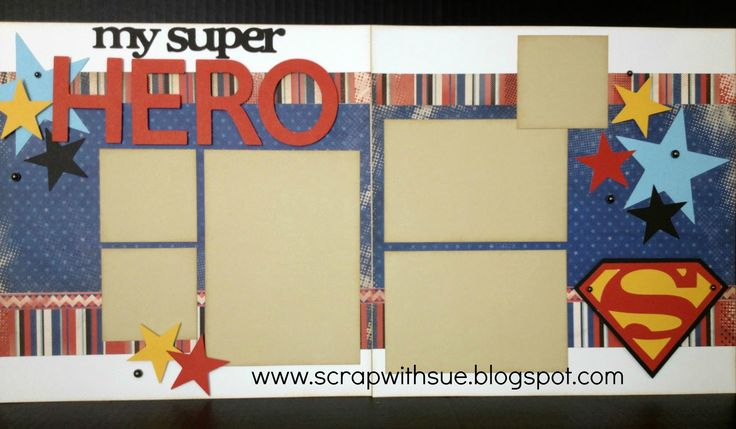 Scrap with Sue: National Scrapbook Day/Operation Smile Event - Superhero Goodie Bag!