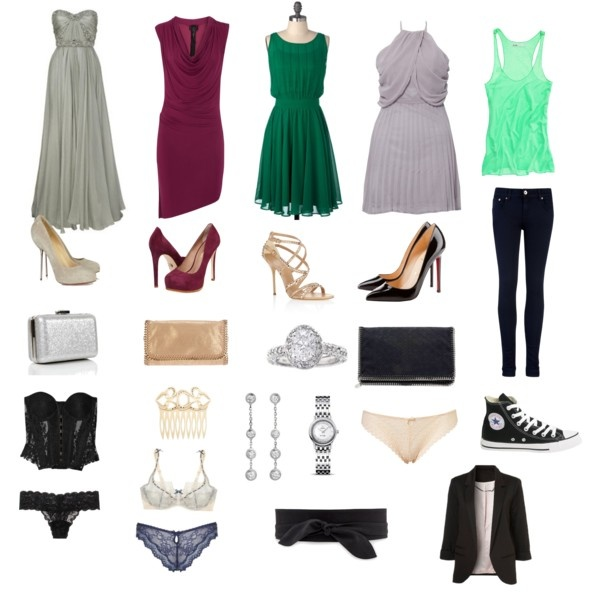 Ana's closet...some of her famous clothes. Fifty Shades of Grey, Fifty Shades Darker