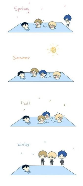 Free! Iwatobi Swim Club Man, I need to watch this, the characters are so cute X3