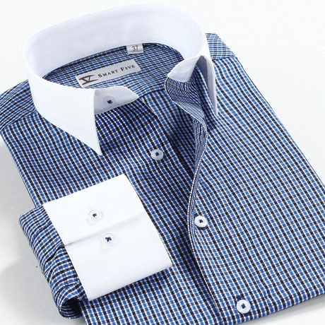 Top quality slim gird 100% cotton comfortable men's long-sleeved dress shirt 866   eBay